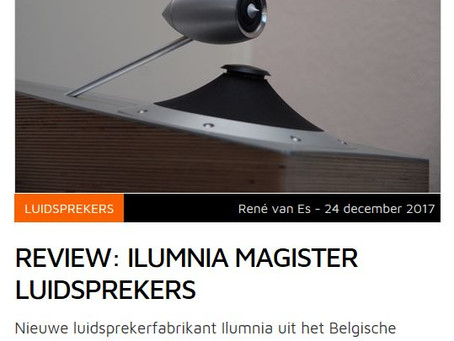 Hifi.nl         REVIEW: ILUMNIA MAGISTER LUIDSPREKERS
