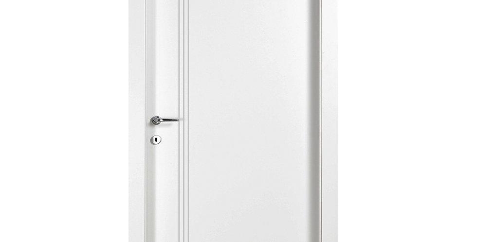 דלת פנים למינטו 3 פסי ניקל לאורך הדלת