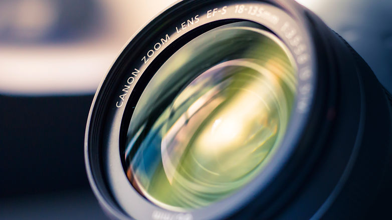 Refelaction in a Camera Lens