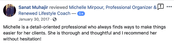 Sanat Muhajir's Facebook Testimonial on