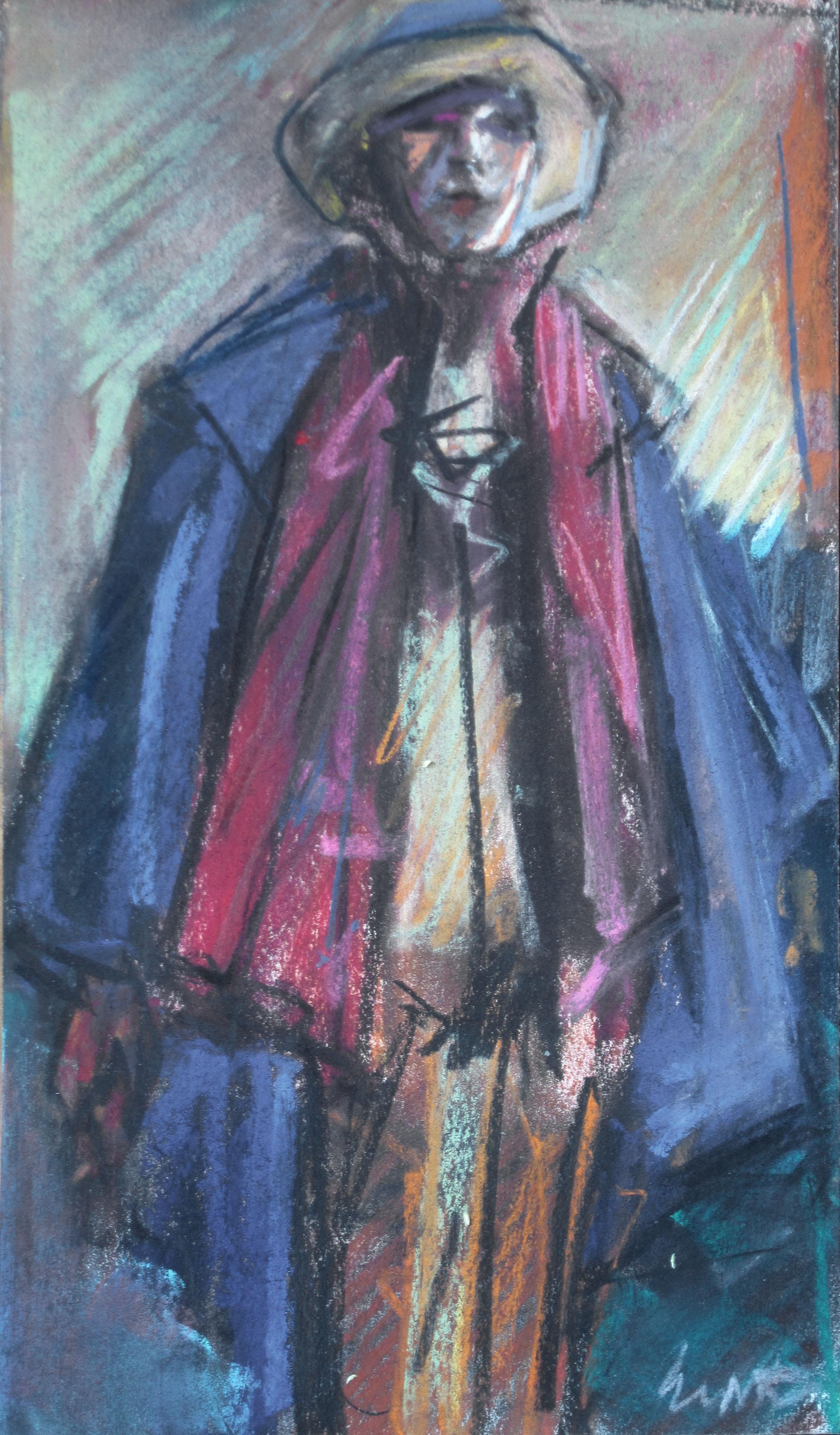 Man with Blue Cloak