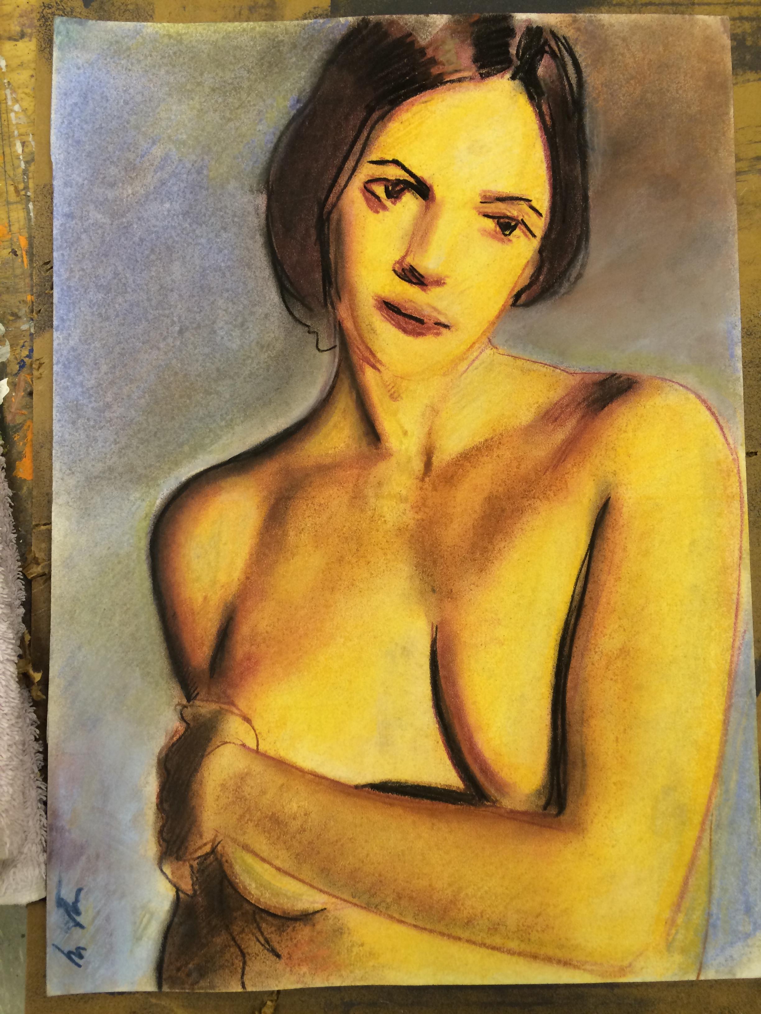 Nude in Golden Light