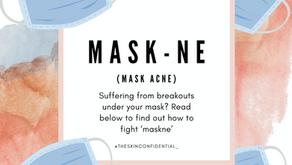 MASKNE - the new acne