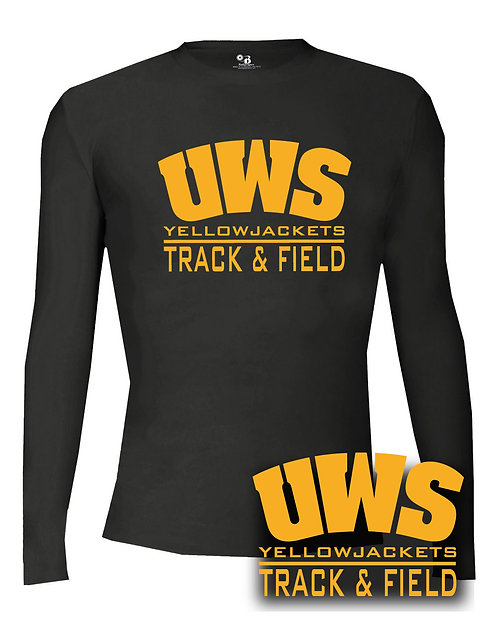 UWS Track Long Sleeve Compression Shirt