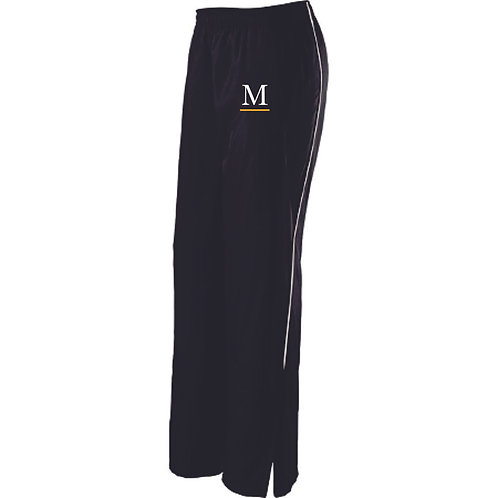 Marshall Track Ladies Warm Up Pants