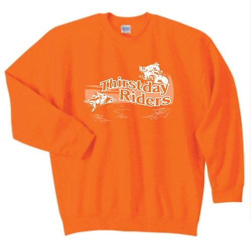 Thirstday Riders Crewneck Sweatshirt