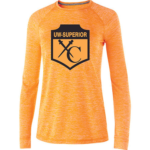 UWS Cross Country Ladies Gold Dri-ft Long Sleeve