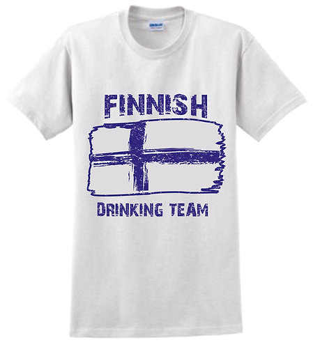 Finnish Drinking Team T-Shirt