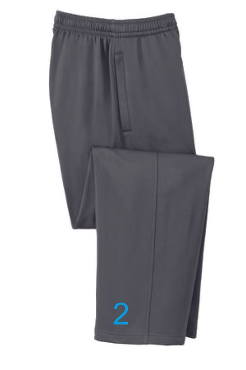 Black Unisex Dri-Fit Sweatpants