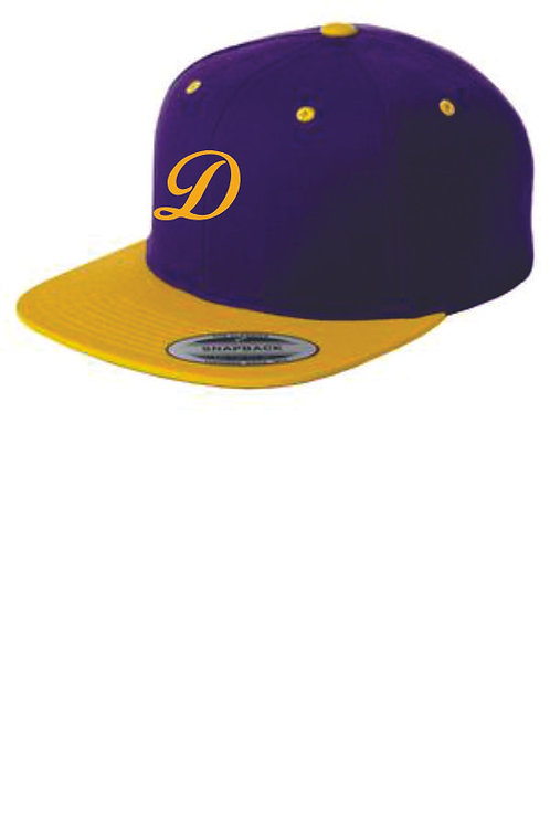 Drummond Adjustable Purple & Gold Hat