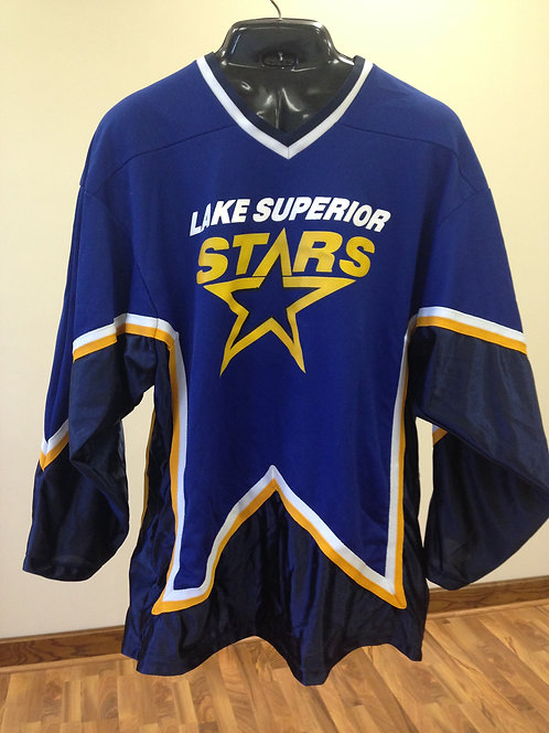 Lake Superior Stars Blue Jersey