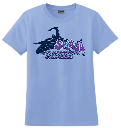 Splash Ladies Screen Printed T-Shirt