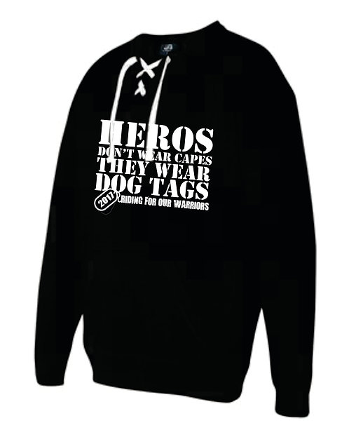 CREW NECK WITH LACES