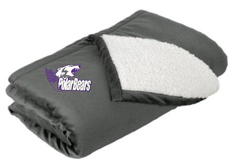 Floodwood Track Fleece Blanket