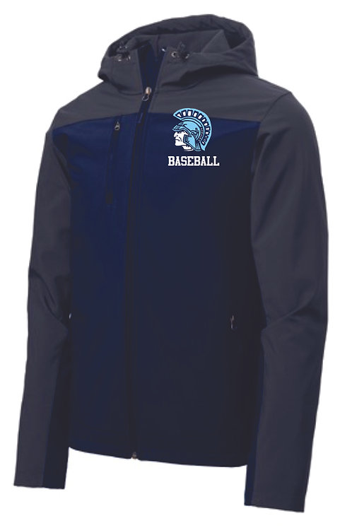 Spartan Baseball Hooded Softshell Jacket
