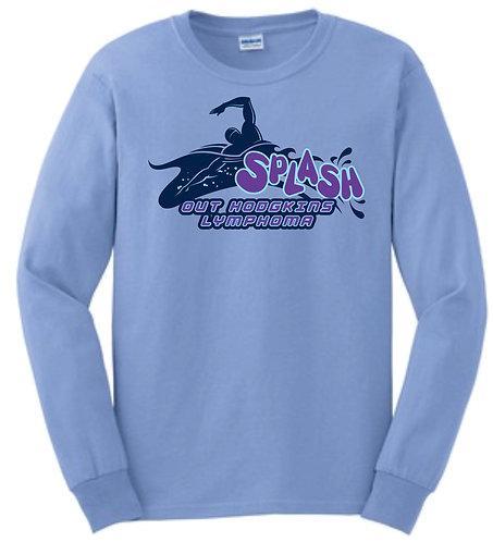 Splash Long Sleeve Screen Printed Shirt