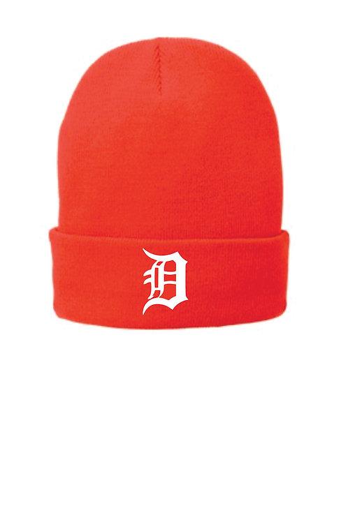 Dukes Blaze Orange Cuff Hat