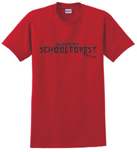 Superior Forest Red T-Shirt