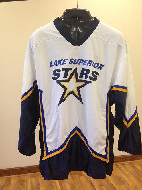 Lake Superior Stars White Jersey