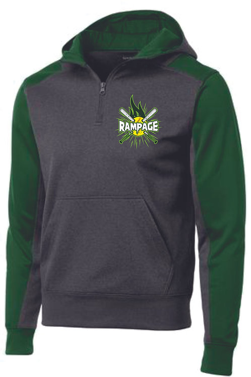 Rampage Hooded 1/4 Zip