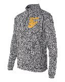 J. AMERICA 1/4 ZIP EMBROIDERED