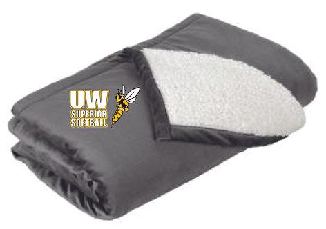 UWS Softball Fleece Blanket