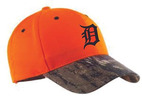 Dukes Blaze Orange Camo Hat