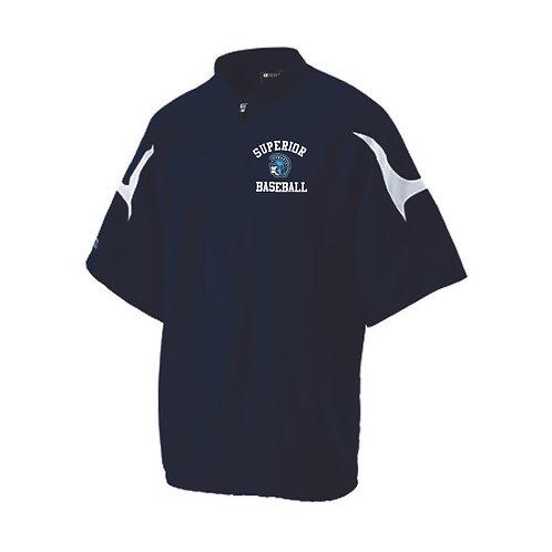 Spartan Baseball Short Sleeeve Jacket