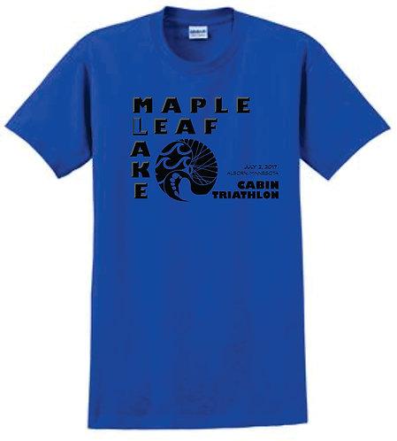 Maple Leaf Lake Blue Dri-Fit
