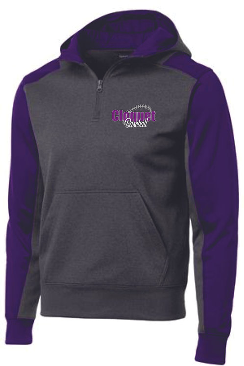 Cloquet Baseball Hooded 1/4 Zip