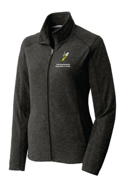 UWS Registrar's Office Ladies Fleece Zip Up