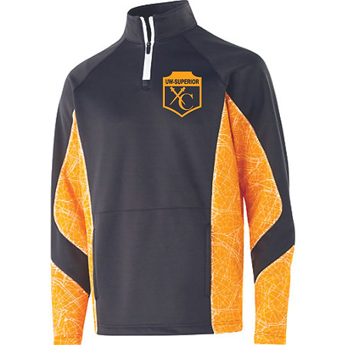 UWS Cross Country Gray/Gold 1/4 Zip