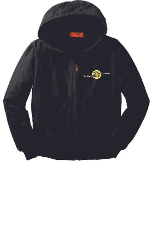 Sue Vinje Hooded Work Coat