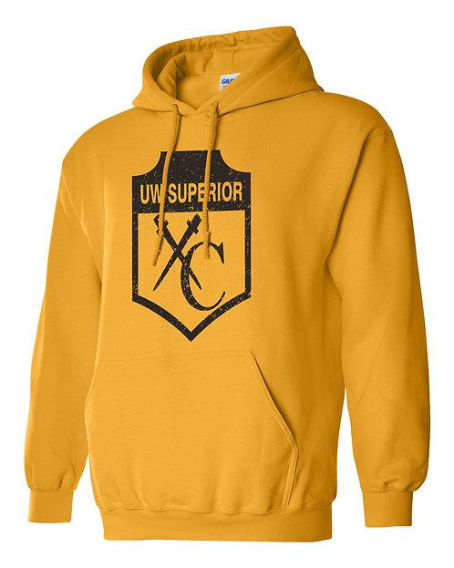 Gold Hooded Sweatshirt