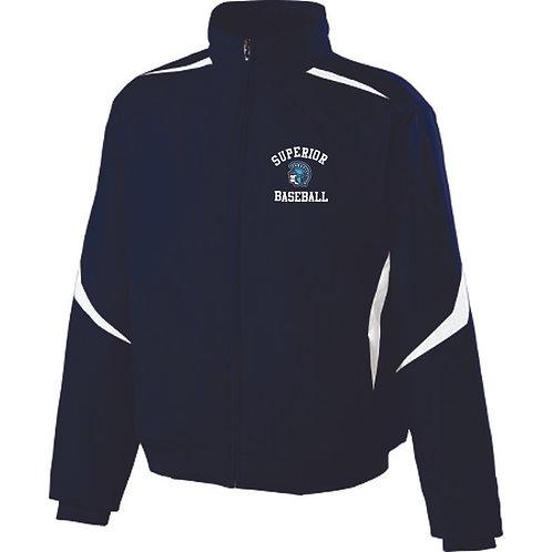 Spartan Baseball Full Zip Jacket