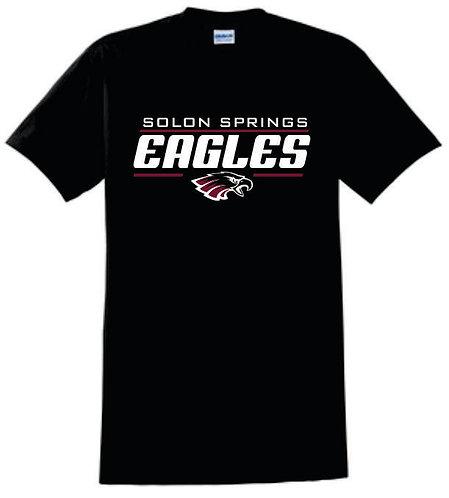 Solon Springs Black T-Shirt