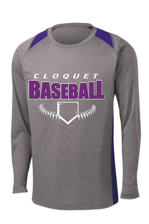 Cloquet Baseball Long Sleeve Drifit Shirt