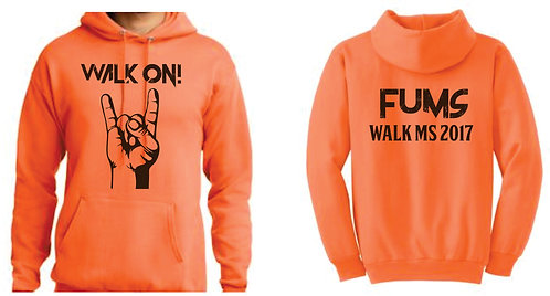 FUMS Walk Hooded Sweatshirt