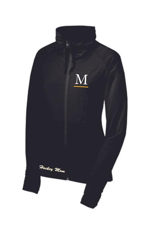 Marshall Black Shall Collar Mom Jacket