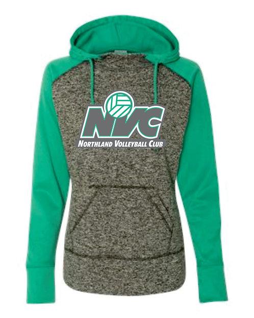 NVC Green Raglan Fleece Hoodie
