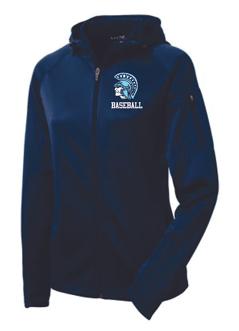 Spartan Baseball Ladies Hooded Jacket