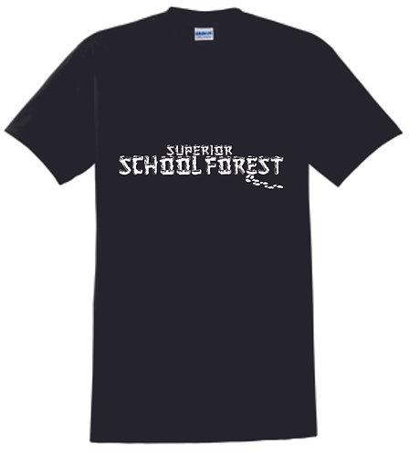 Superior Forest Black T-Shirt