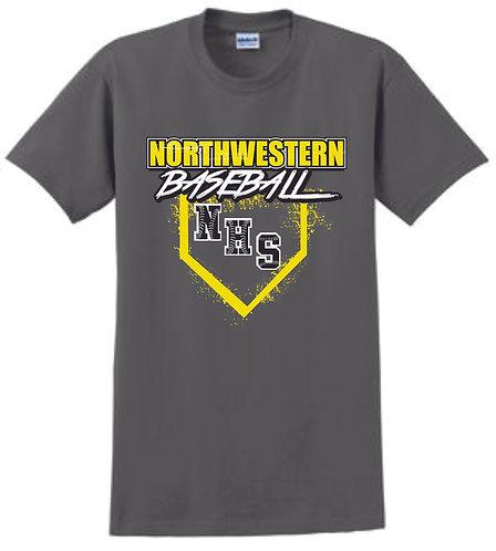 NHS Baseaball T-Shirt