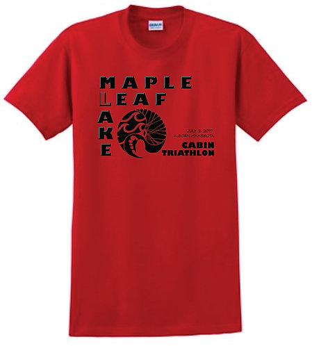 Maple Leaf Lake Red Dri-Fit
