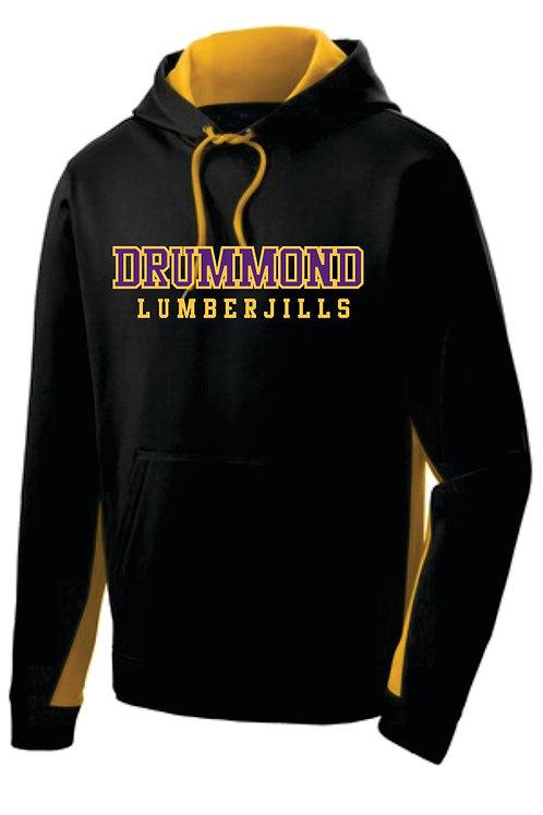 Drummond Dri-fit Embroidered Hoodie - JILLS