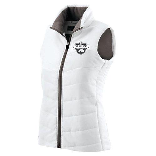 Two Harbors Soccer Ladies Admire Vest