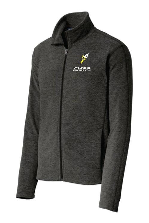 UWS Registrar's Office Fleece Zip Up
