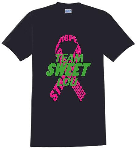 Team Sweet Lou Black T-Shirt