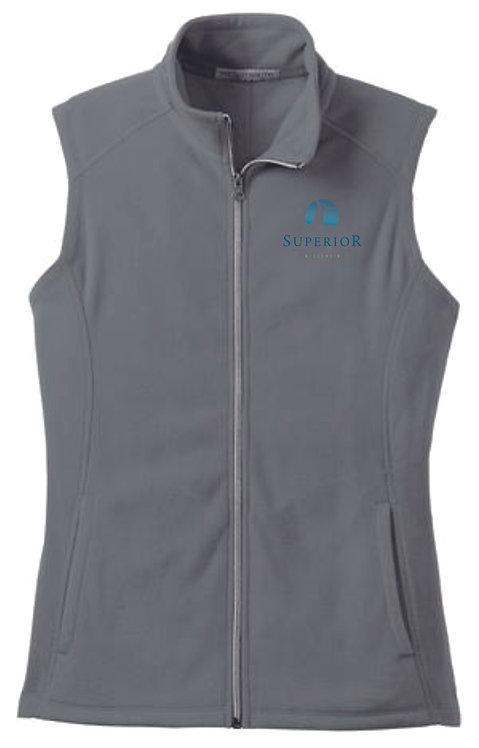 City of Superior Ladies Fleece Vest