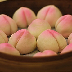 Frozen Mini Birthday Buns with Red Bean Paste (6pc)